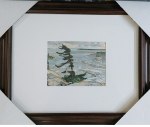 """Group of 7 Print Titled """"Stormy Weather"""