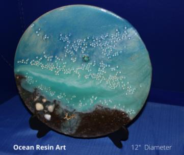 Value Ocean Resin Art