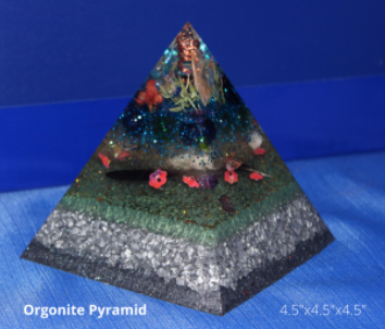 Value Orgonite Pyramid